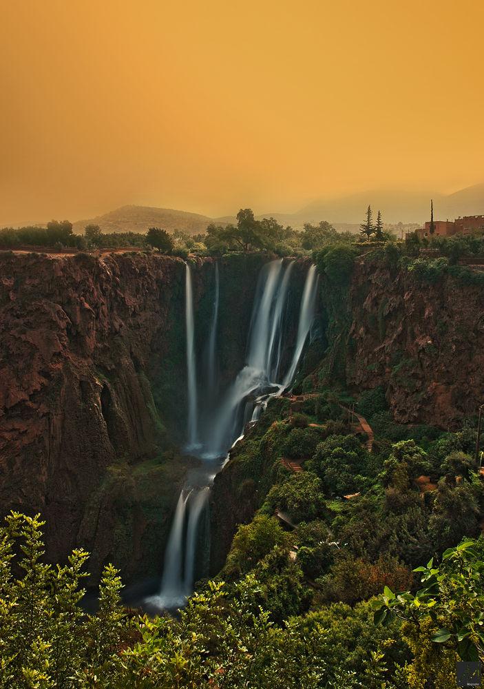 cascade d'ouzoud by Moussa Idrissi-MOGRAPHE