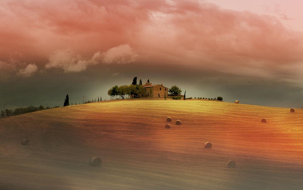 Tuscany landescape by robertopaglianti
