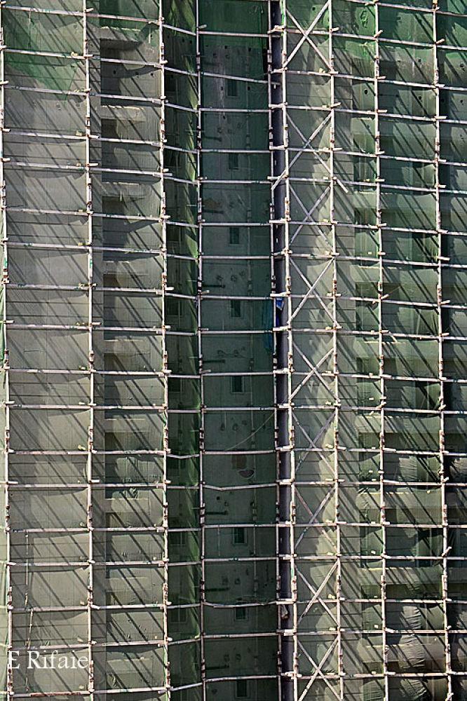 Building under contruction by Emad Eldin Moustafa El Refaie