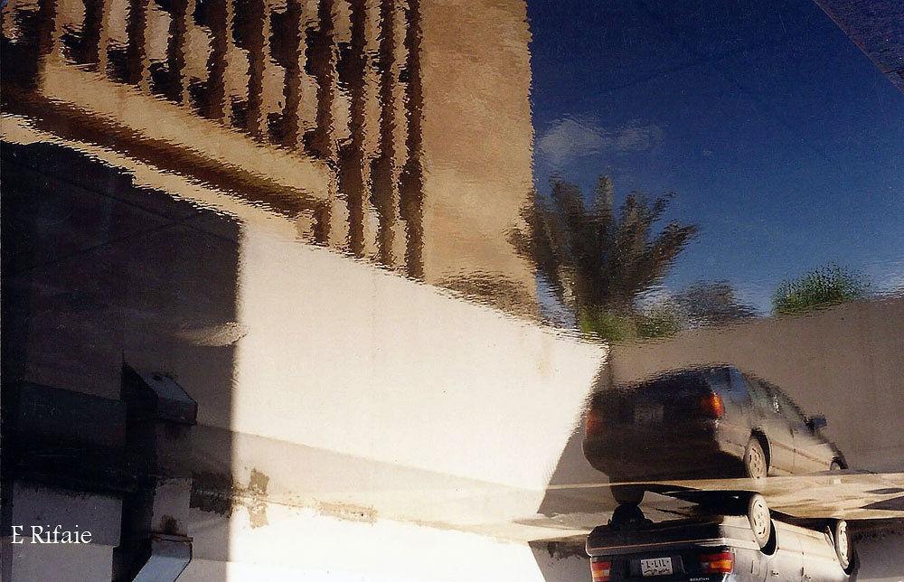 Reversed reflection by Emad Eldin Moustafa El Refaie