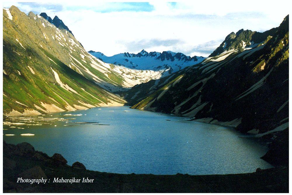 16x24 f  Konsarnag Lake, India   by maharajkar.isher