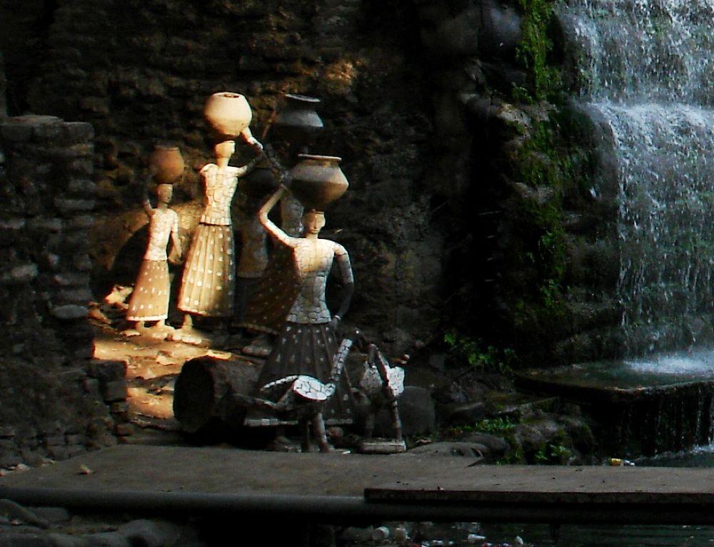 DSC01790 - Copy (2) Ladies of  Rock Garden by maharajkar.isher