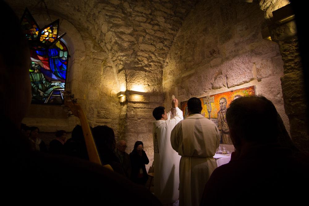 Consecration - Saint Jerome's Chapel, Bethlehem by Ho John Lee