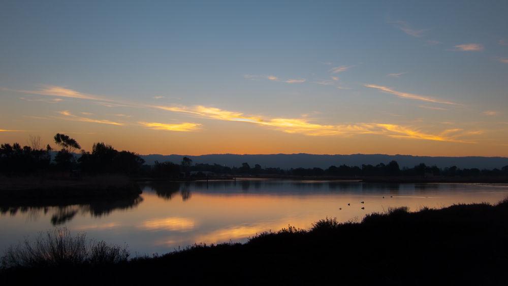 Settling in for the evening - Palo Alto Baylands by Ho John Lee
