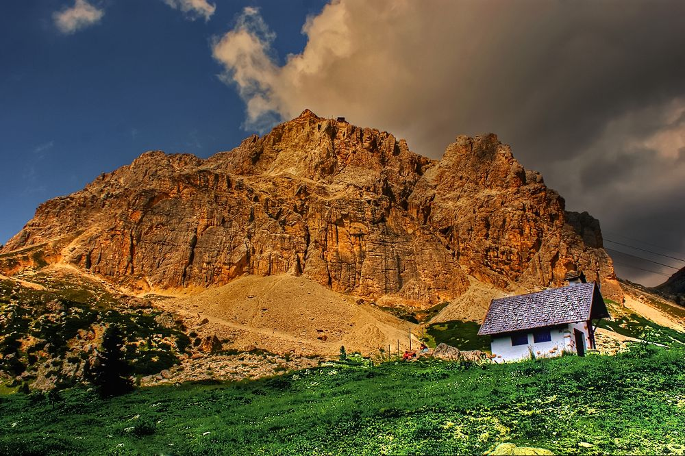 HD (284)Dolomites at sunset by Silvestro Cappellini