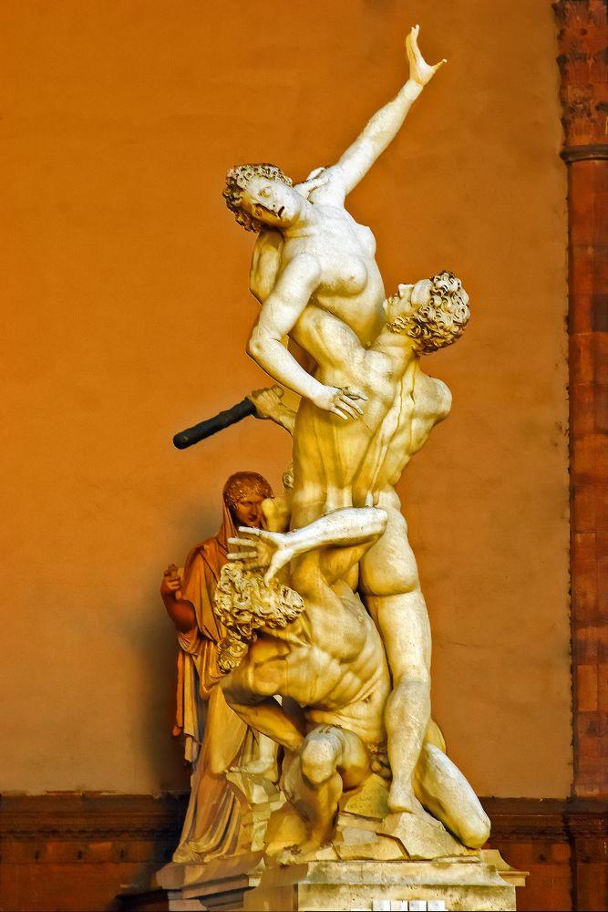 Ratto delle Sabine by Silvestro Cappellini