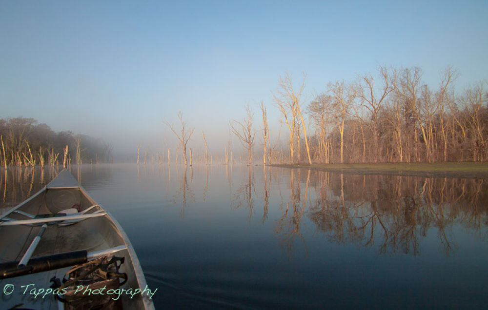20121121-_MG_8142   Canoeing Lake Naconiche, TX. by Gary Truchelut