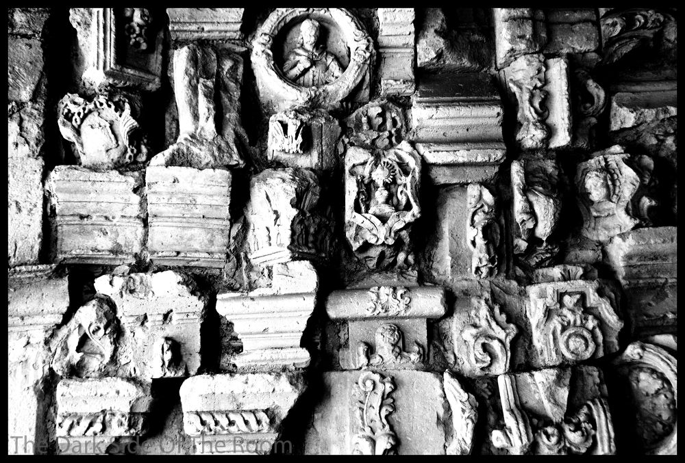 Photo in Fine Art #black and white #bas-relief #low relief #stone #pierre #art #mexico #contrast #noir blanc #blanco y negro