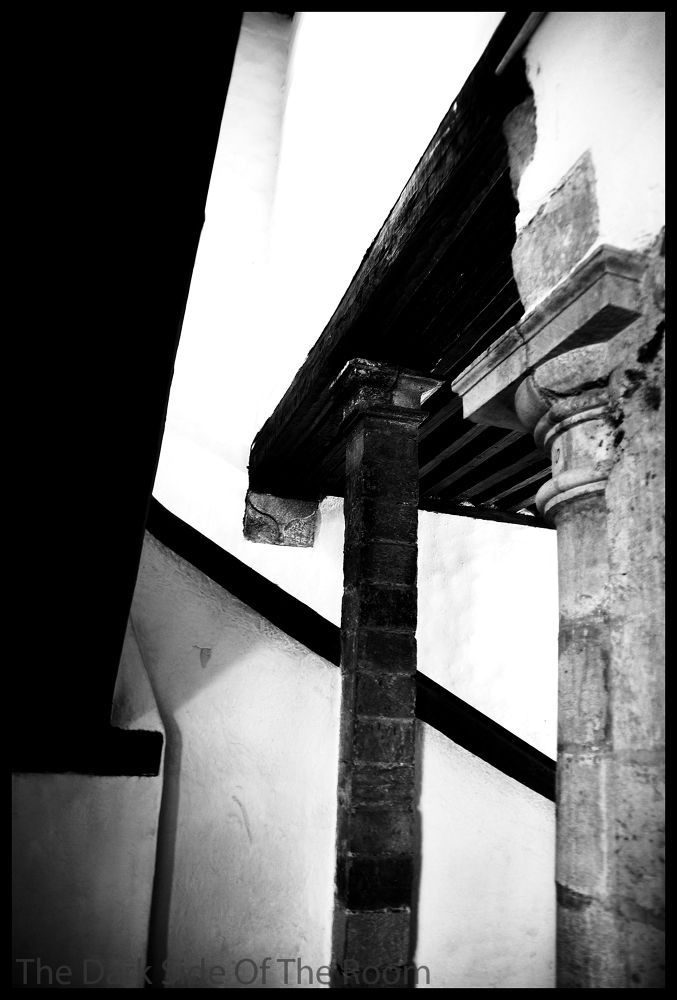 Photo in Fine Art #black and white #contrast #architecture #mexico #line #abstract #column