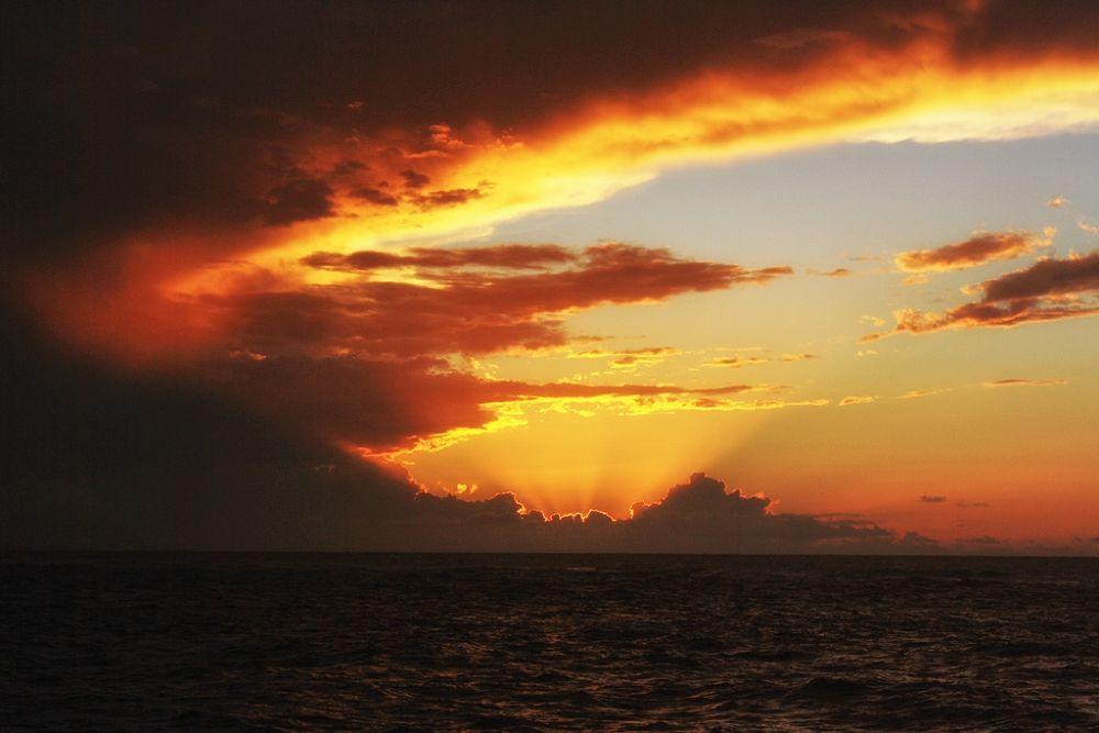 Motley Sunset (1) by Jorge Coromina