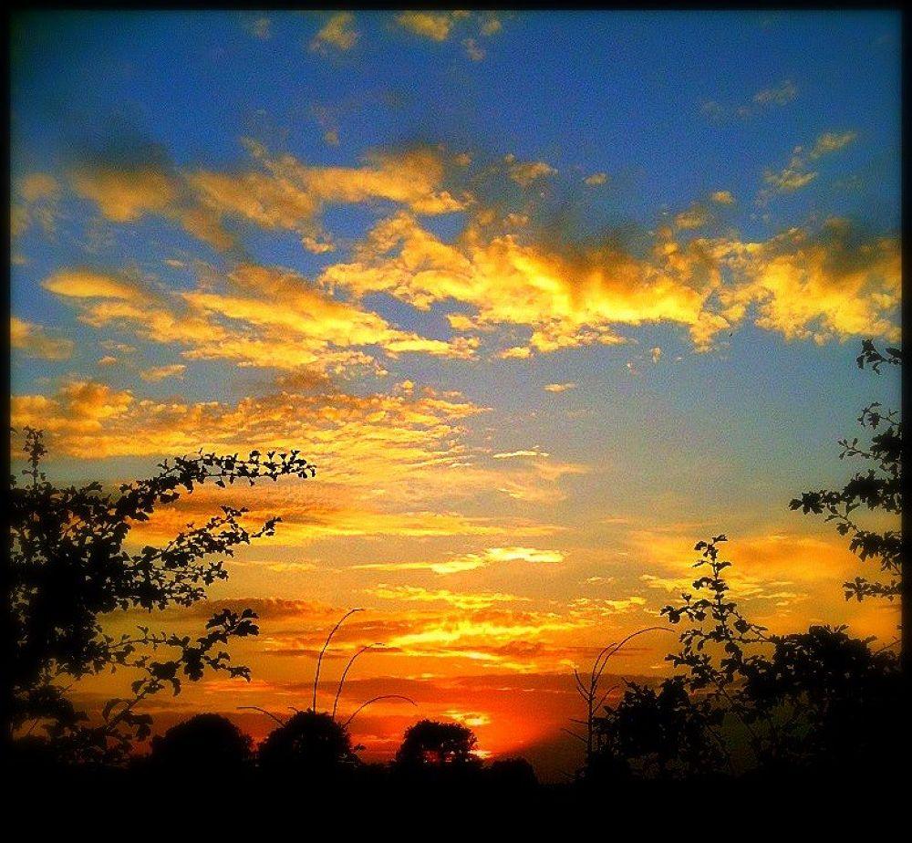 York UK sunset by Paul Anthony White