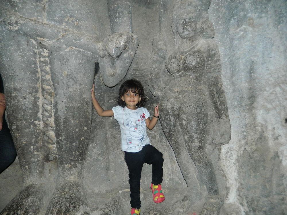 """My Angel"" Between two Sculptures. by krishnanraman1460"