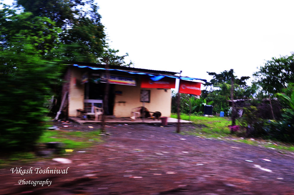 A panned shot of a house. by Vikash Toshniwal
