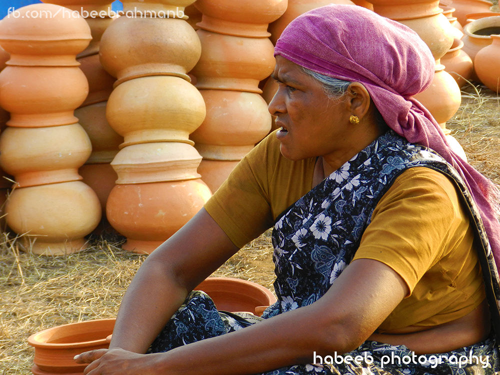 Indian Clay Worker @Kerala Special by HABEEB RAHMAN
