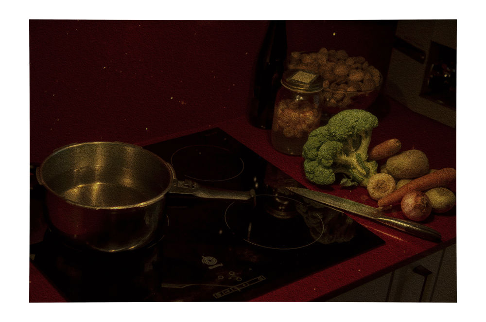 Preparando la comida by josepmariacollstrullen