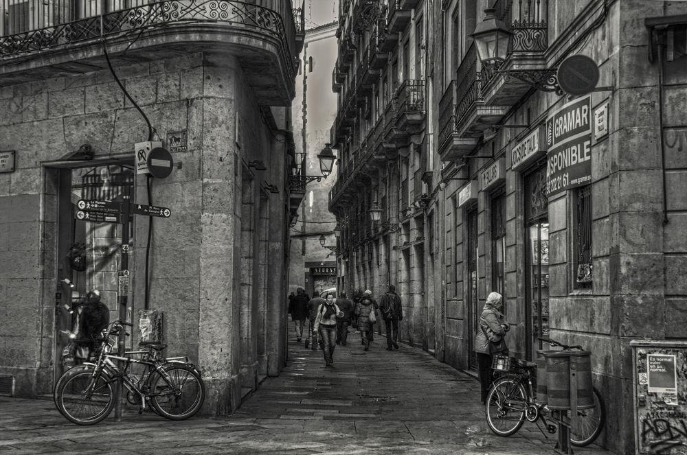 casco antiguo Barcelona by josepmariacollstrullen
