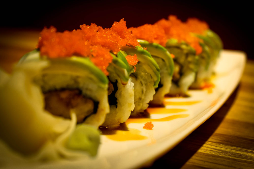 Caterpillar Sushi Roll by Wilson C. Seno