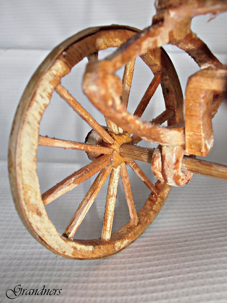 Miniature Wheel Cart Horse by suhartono