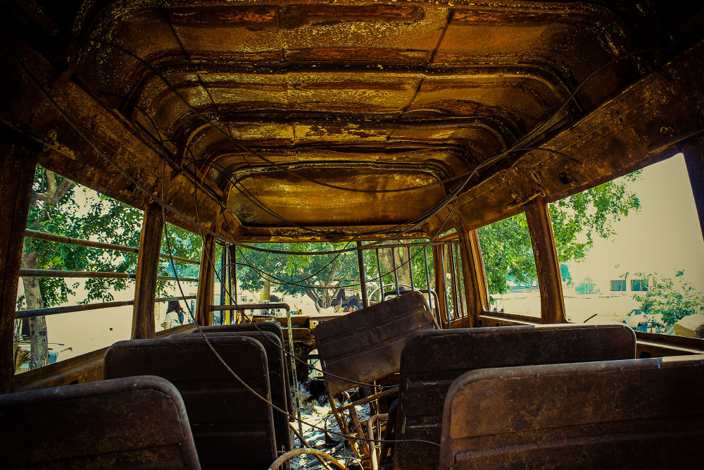 OLD BUS by joydeepdutta1