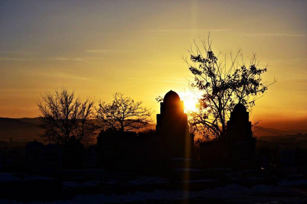 sunset by erkankaraca