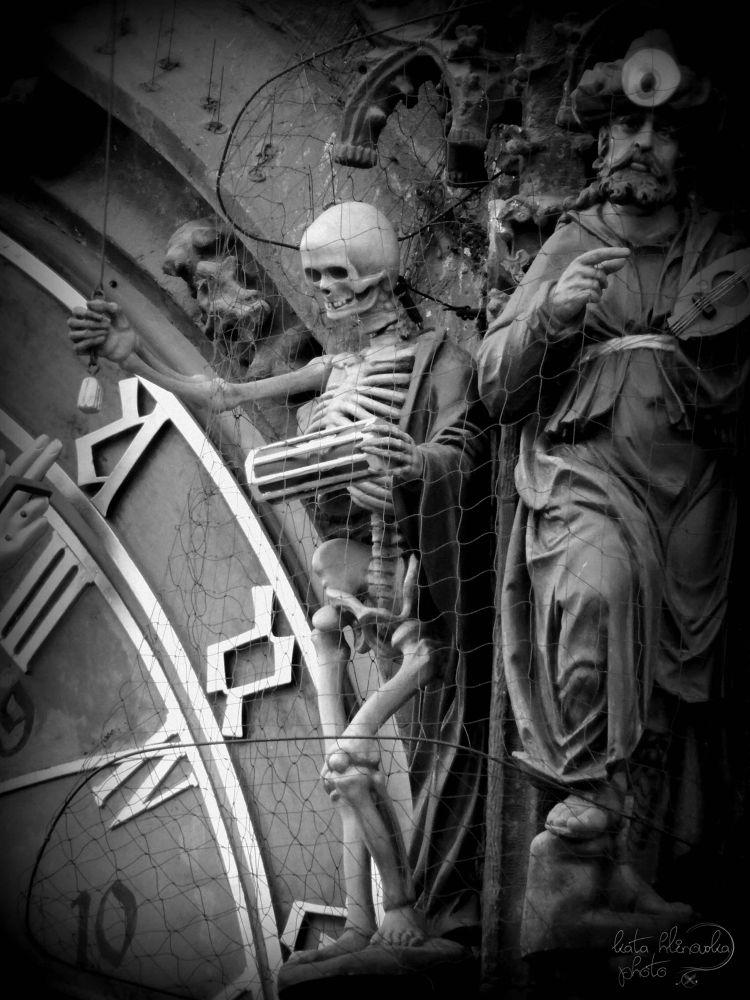 On Prague's Old Town Clock by katahlinovska