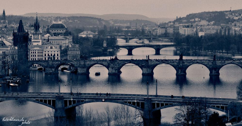 Prague  by katahlinovska