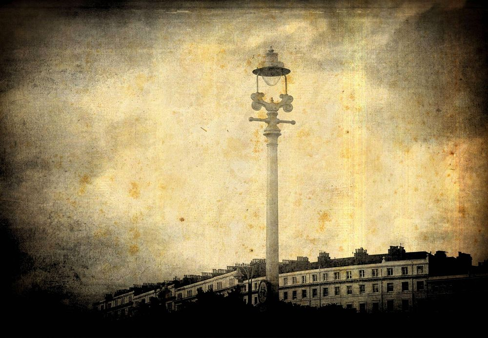 Photo in Architecture #brighton #england #uk #sky #light_post #light #lamp #vintage #victorian #gothic
