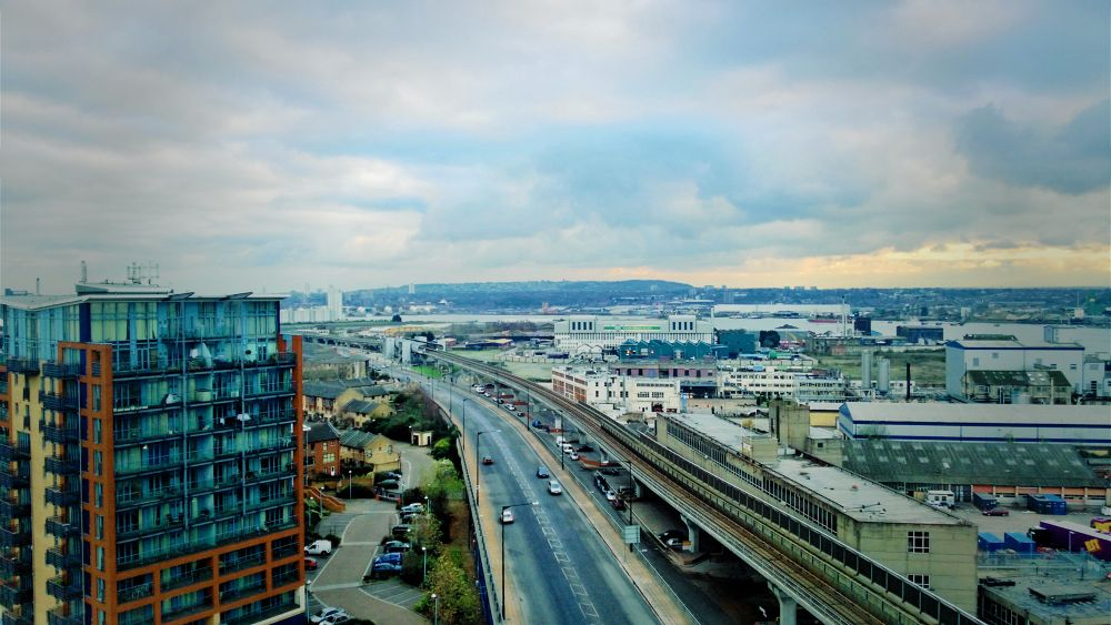 London from the Cable Car by jermanysphotography