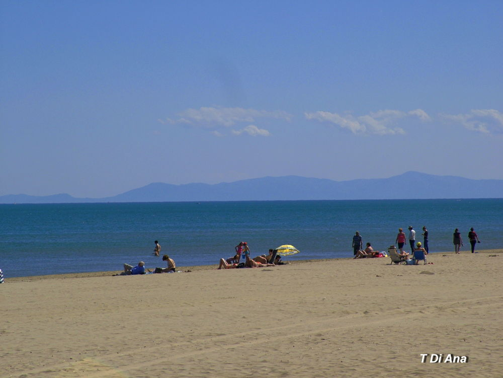 Narbounne Plage by T Di Ana