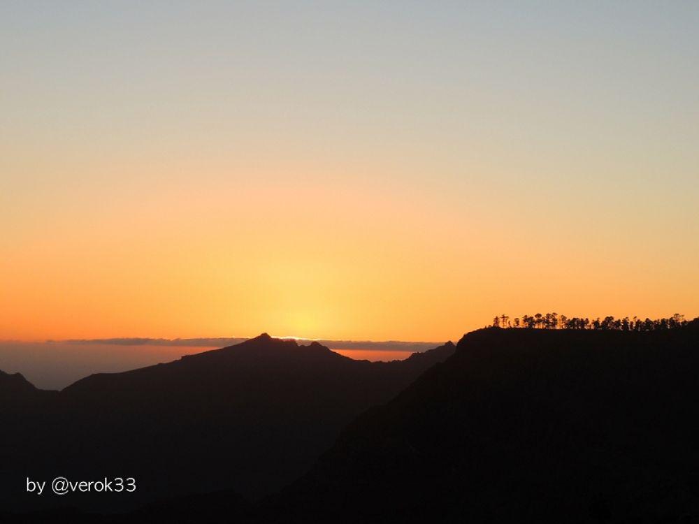 Soleil couchant à Gran Canaria by verok33