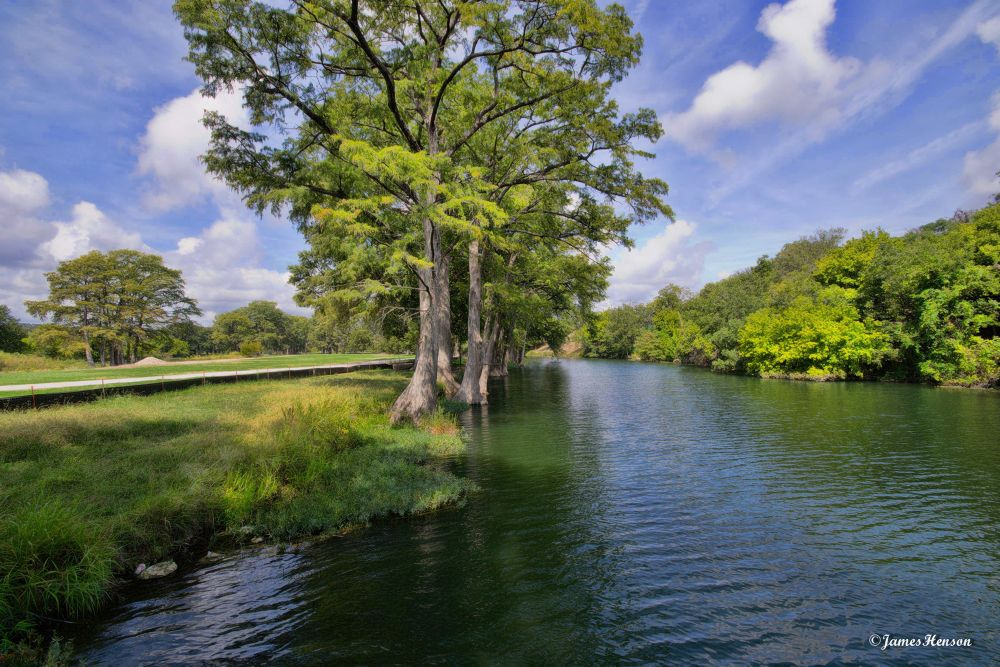 Guadalupe River by James Henson