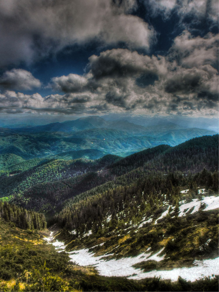 Tibles Mountain by Szanto Alexandru