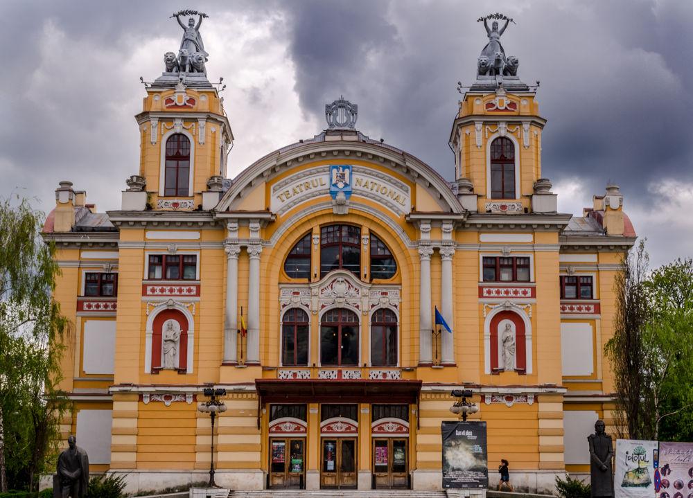 Cluj-Napoca National Theatre by Szanto Alexandru