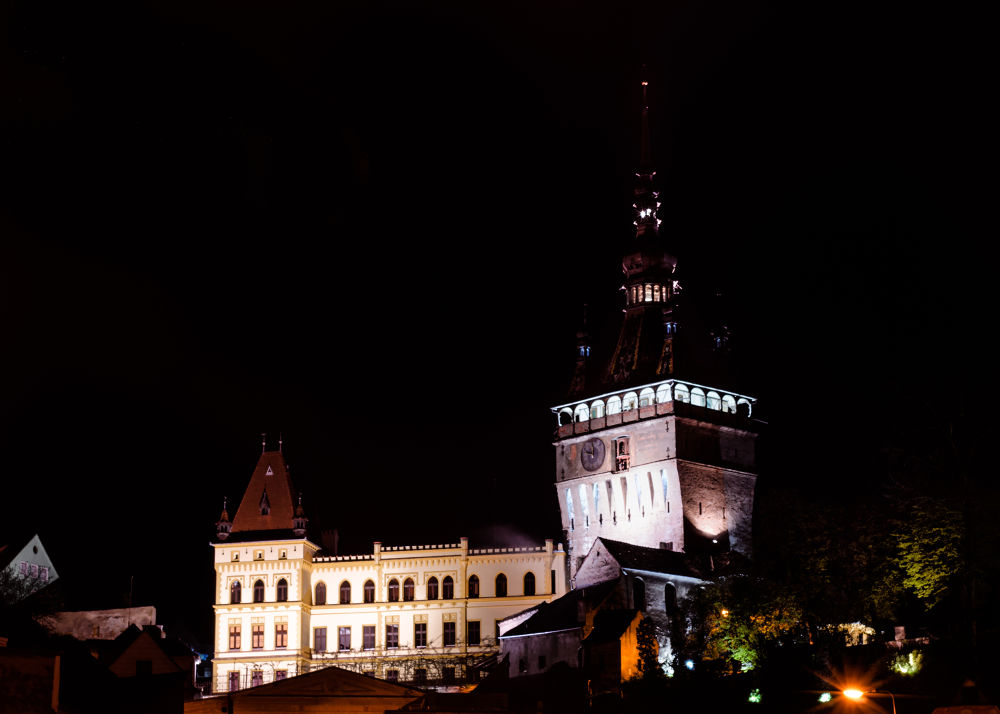 Sighisoara Clock Tower by Szanto Alexandru
