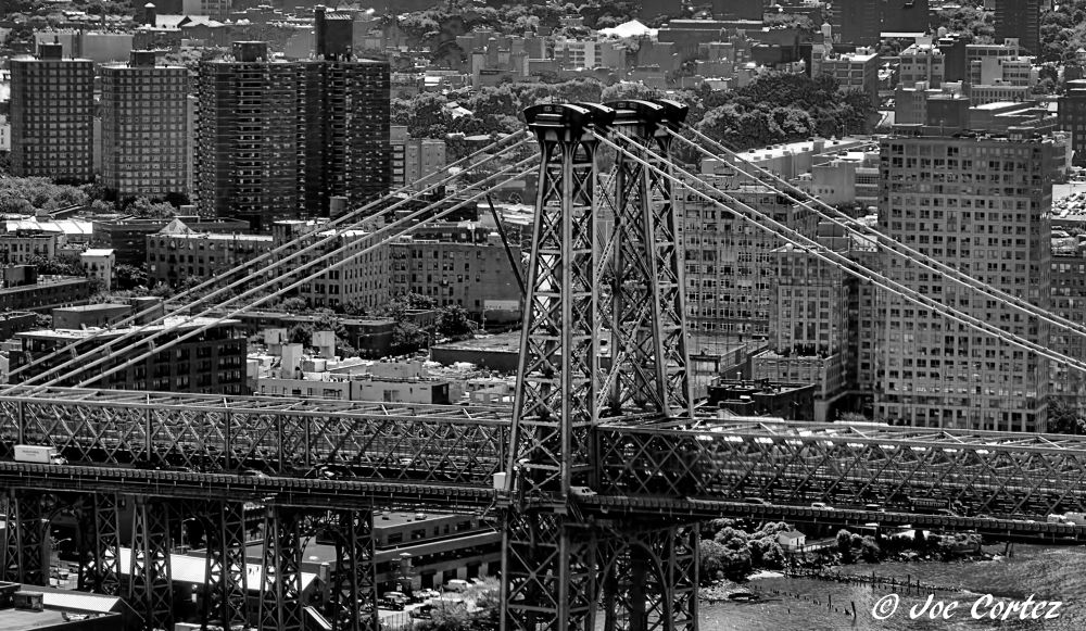 Williamsburg Bridge by Joe Cortez