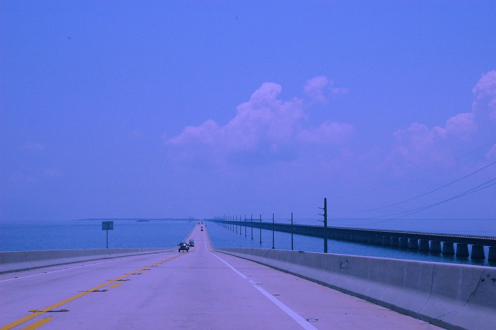 Driving to Key West, Florida by Yulius B Susilo