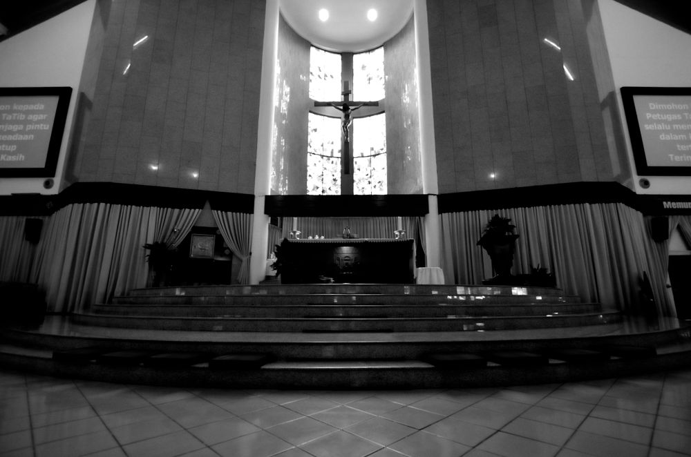 The Altar MKK Church by Yulius B Susilo