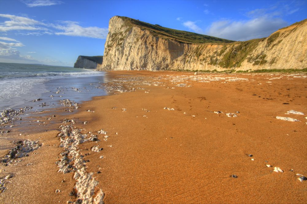 Dorset cliffs by davidvalentyne