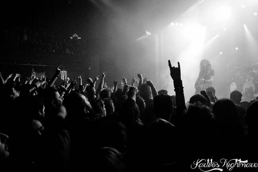 Rotting Christ audience by karlatrainer