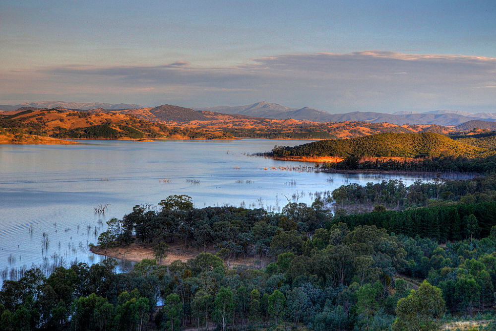 Photo in Landscape #lake #waterway #landscape #hdr #country #mountains