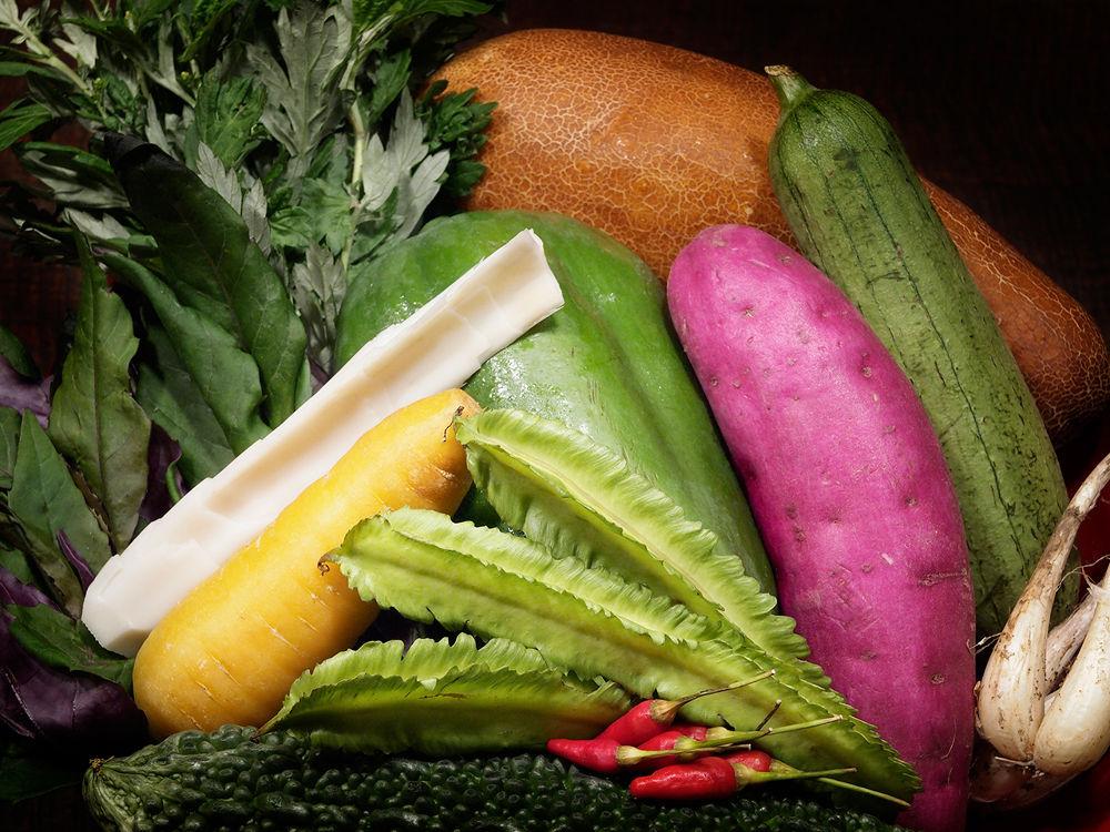 Vegetables  by Yosuke Ito