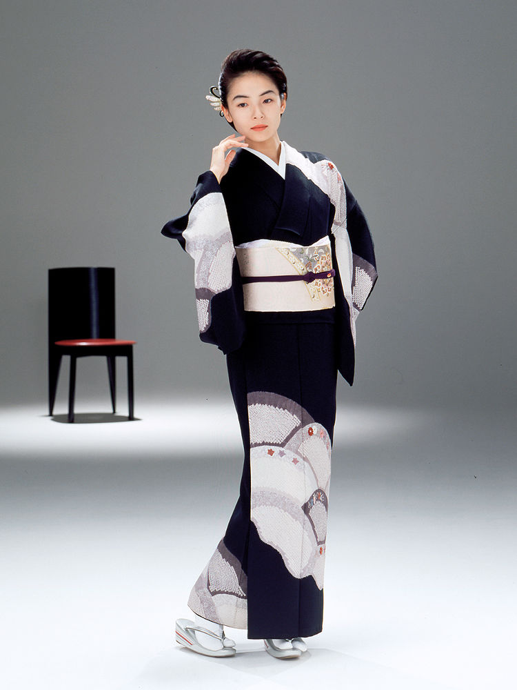 Photo in Fashion #kimono #woman