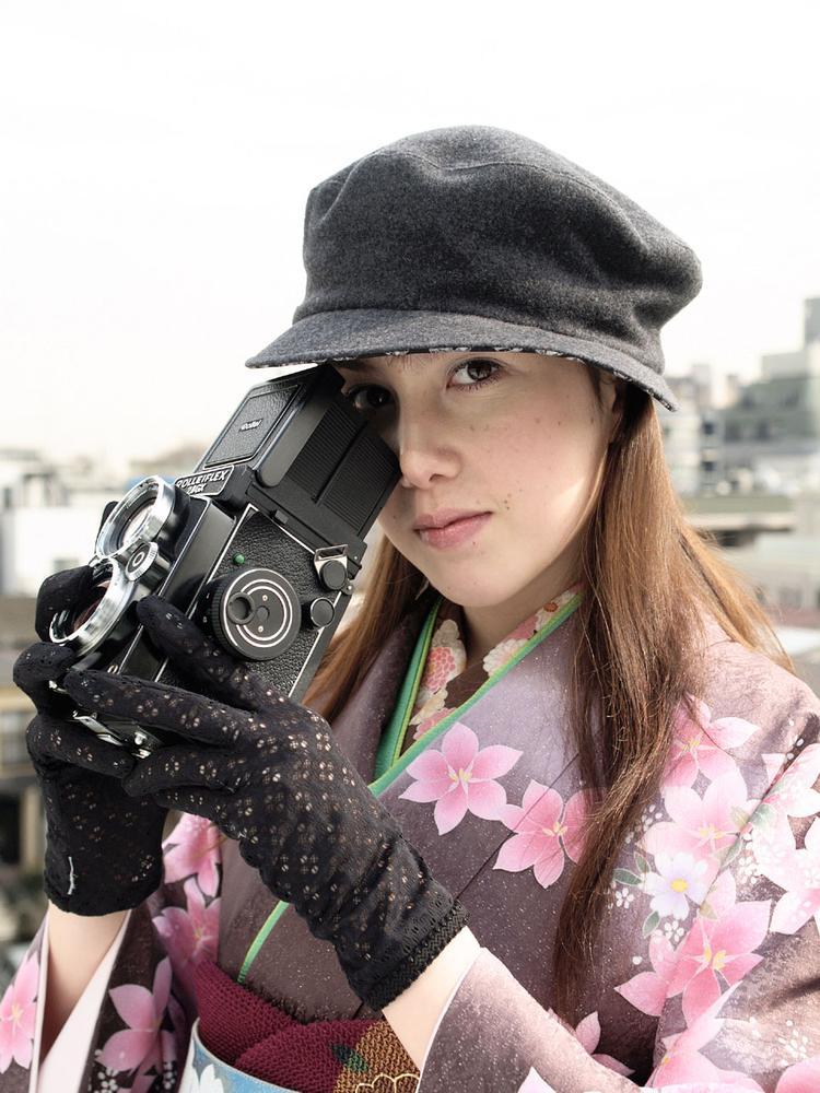 Kimono portrait by Yosuke Ito