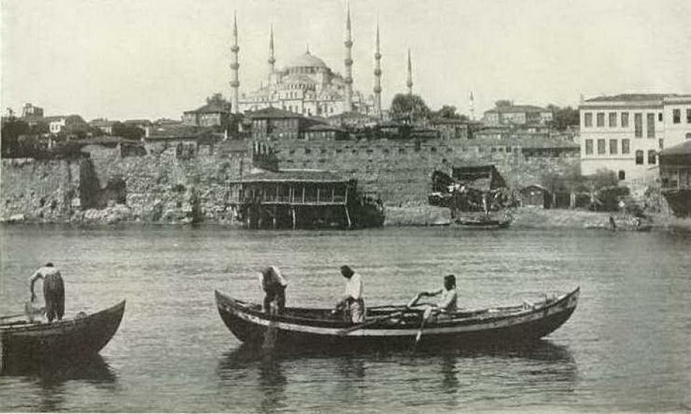 Denizden sultan ahmet camii 1900 ler by tropikyasam