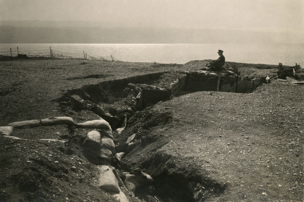 Turkish_trenches_at_Dead_Sea2 by tropikyasam