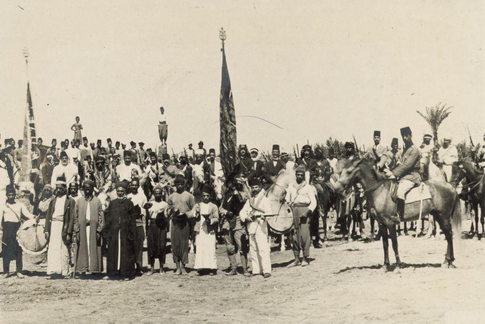 Recruiting_for_the_Holy_War_near_Tiberias_1914 by tropikyasam
