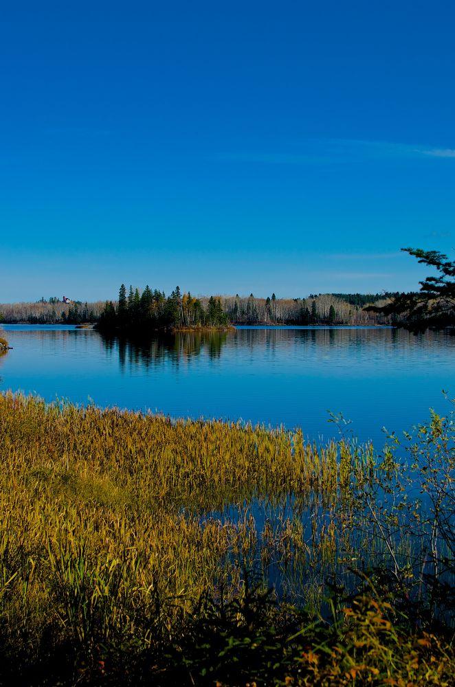 Lac Bouchette, Québec, Canada. by carol dallaire