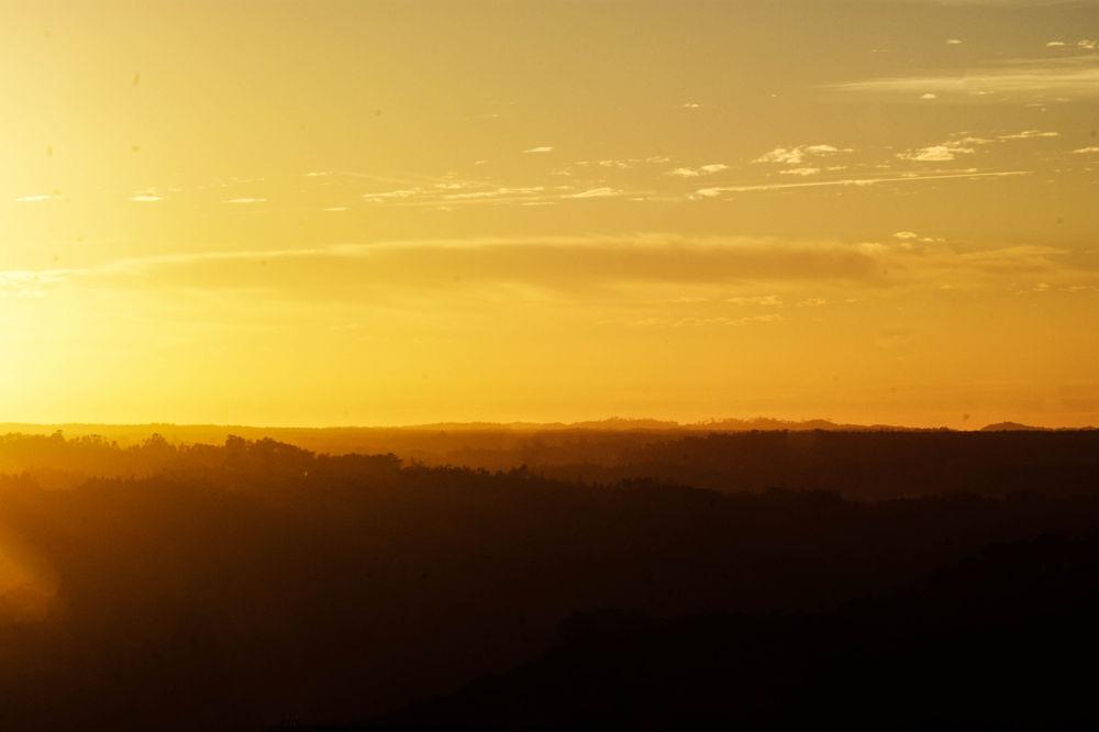 Burning Sunset by Tiago Gaspar
