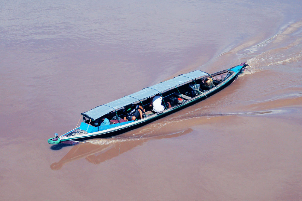 crossing the river by Nadi
