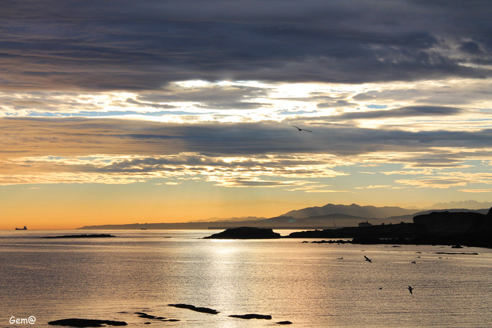 Photo in Landscape #sunrise #españa #asturias #amanecer
